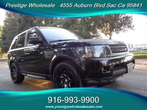 2010 Land Rover Range Rover Sport for sale at Prestige Wholesale in Sacramento CA
