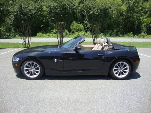 2005 BMW Z4 for sale at Pristine Auto Sales in Monroe NC