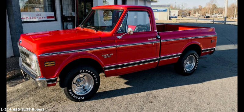 1970 Chevrolet C/K 10 Series for sale at Mr. Old Car in Dallas TX