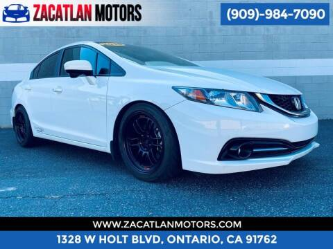 2014 Honda Civic for sale at Ontario Auto Square in Ontario CA