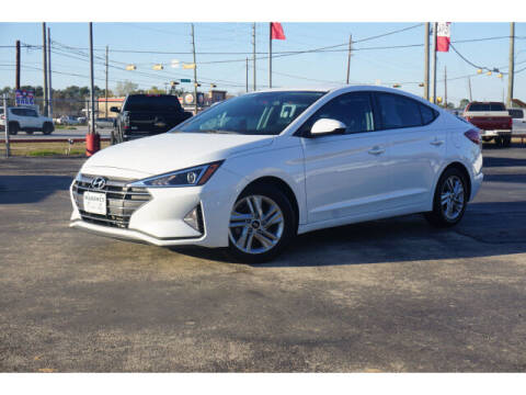 2020 Hyundai Elantra for sale at Maroney Auto Sales in Humble TX