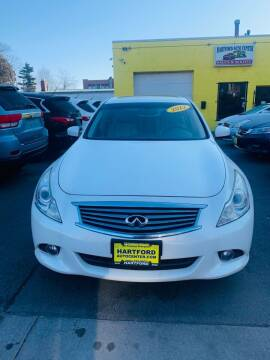 2012 Infiniti G37 Sedan for sale at Hartford Auto Center in Hartford CT