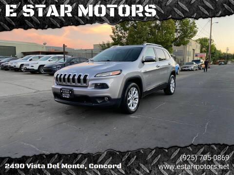 2014 Jeep Cherokee for sale at E STAR MOTORS in Concord CA