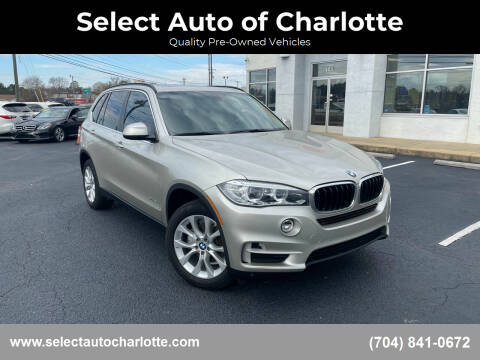 2016 BMW X5 for sale at Select Auto of Charlotte in Matthews NC