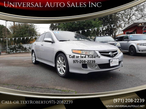 2006 Acura TSX for sale at Universal Auto Sales Inc in Salem OR