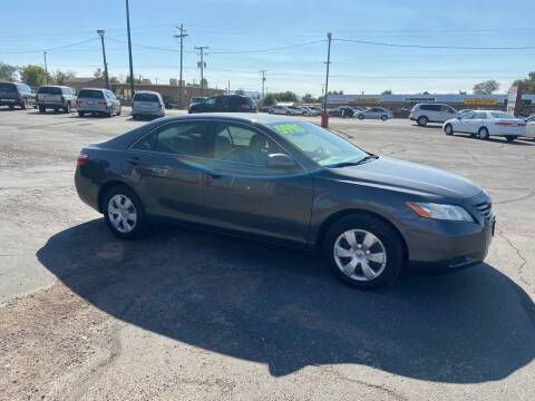 2007 Toyota Camry for sale at University Auto Sales in Cedar City UT