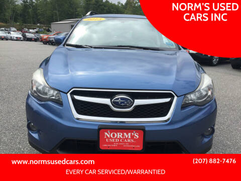 2015 Subaru XV Crosstrek for sale at NORM'S USED CARS INC in Wiscasset ME