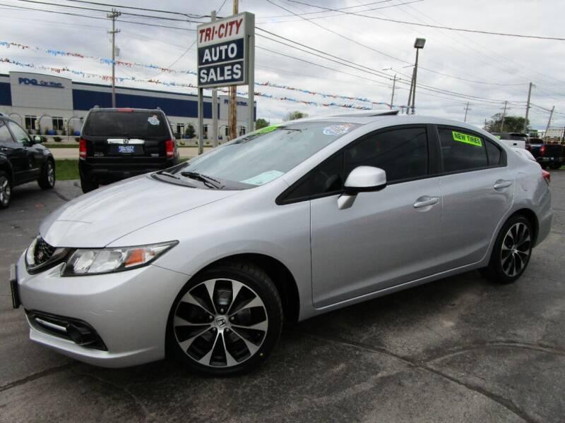 2013 Honda Civic for sale at TRI CITY AUTO SALES LLC in Menasha WI