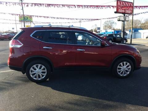 2016 Nissan Rogue for sale at Kenny's Auto Sales Inc. in Lowell NC