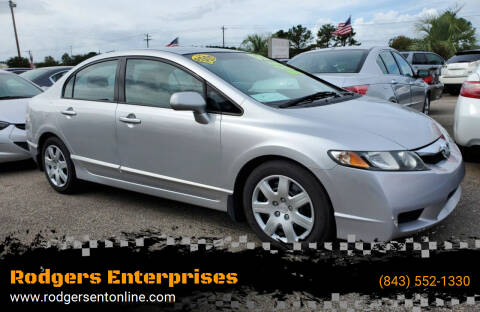 2009 Honda Civic for sale at Rodgers Enterprises in North Charleston SC