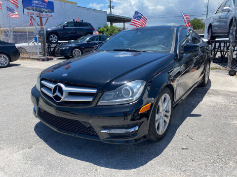 2012 Mercedes-Benz C-Class for sale at INTERNATIONAL AUTO BROKERS INC in Hollywood FL