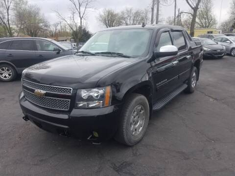 2010 Chevrolet Avalanche for sale at Nonstop Motors in Indianapolis IN