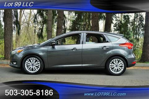 2017 Ford Focus for sale at LOT 99 LLC in Milwaukie OR