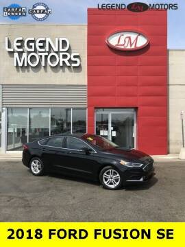 2018 Ford Fusion for sale at Legend Motors of Detroit - Legend Motors of Ferndale in Ferndale MI
