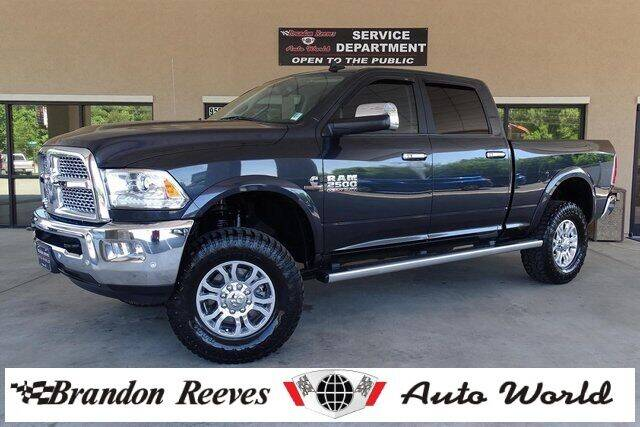 2018 RAM Ram Pickup 2500 for sale at Brandon Reeves Auto World in Monroe NC