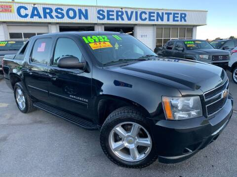 2011 Chevrolet Avalanche for sale at Carson Servicenter in Carson City NV