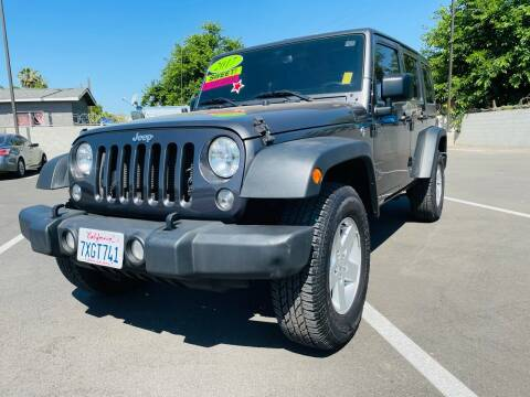 2017 Jeep Wrangler Unlimited for sale at Autodealz of Fresno in Fresno CA