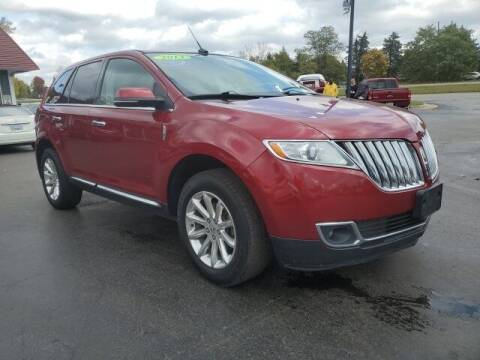 2013 Lincoln MKX for sale at Newcombs Auto Sales in Auburn Hills MI