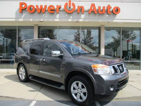 2011 Nissan Armada for sale at Power On Auto LLC in Monroe NC