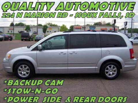 2009 Chrysler Town and Country for sale at Quality Automotive in Sioux Falls SD