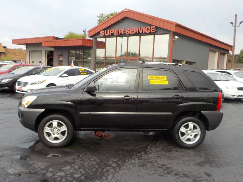 2008 Kia Sportage for sale at Super Service Used Cars in Milwaukee WI