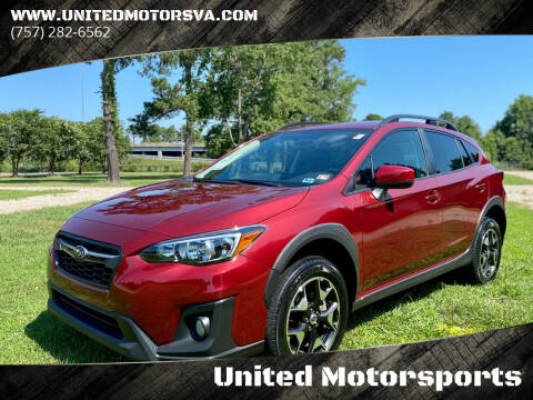 2018 Subaru Crosstrek for sale at United Motorsports in Virginia Beach VA