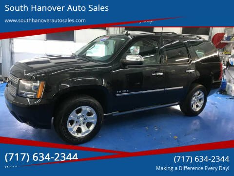 2010 Chevrolet Tahoe for sale at South Hanover Auto Sales in Hanover PA
