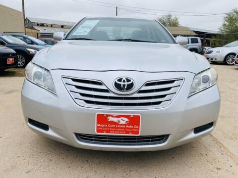 2009 Toyota Camry for sale at MAGNA CUM LAUDE AUTO COMPANY in Lubbock TX