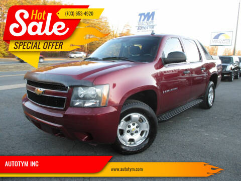 2009 Chevrolet Avalanche for sale at AUTOTYM INC in Fredericksburg VA