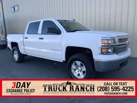 2014 Chevrolet Silverado 1500 for sale at Truck Ranch in Twin Falls ID