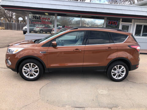 2017 Ford Escape for sale at Midtown Motors in North Platte NE