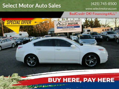 2010 Acura TL for sale at Select Motor Auto Sales in Lynnwood WA
