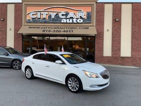 2016 Buick LaCrosse for sale at CITY CAR AUTO INC in Nashville TN