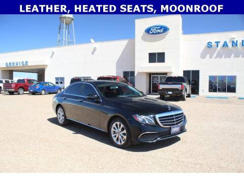 2017 Mercedes-Benz E-Class for sale at STANLEY FORD ANDREWS in Andrews TX