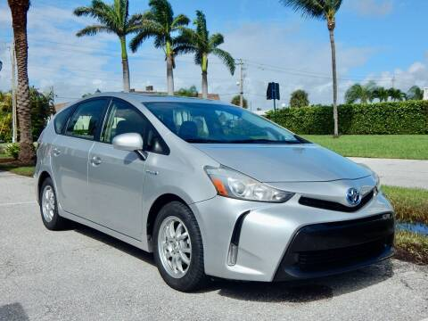 2015 Toyota Prius v for sale at VE Auto Gallery LLC in Lake Park FL