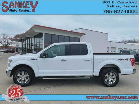 2015 Ford F-150 for sale at Sankey Auto Center, Inc in Salina KS