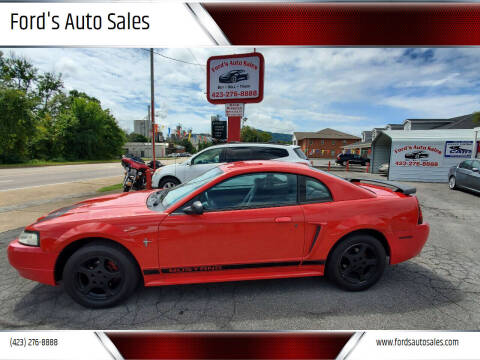 2002 Ford Mustang for sale at Ford's Auto Sales in Kingsport TN