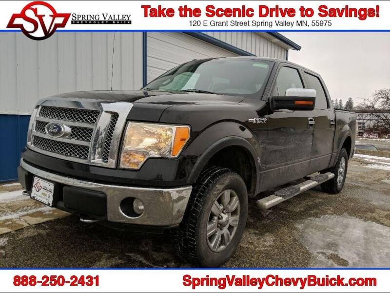 2010 Ford F-150 for sale at Spring Valley Chevrolet Buick in Spring Valley MN