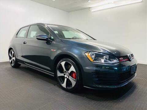 2016 Volkswagen Golf GTI for sale at Champagne Motor Car Company in Willimantic CT