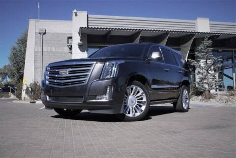 2016 Cadillac Escalade for sale at MUSCLE MOTORS AUTO SALES INC in Reno NV