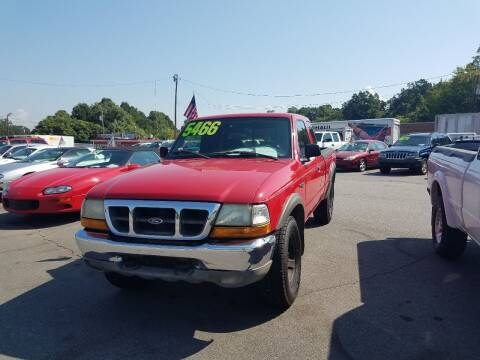 2000 Ford Ranger for sale at Wheel'n & Deal'n in Lenoir NC