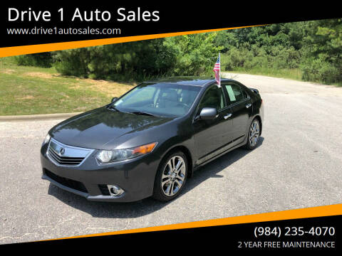 2011 Acura TSX for sale at Drive 1 Auto Sales in Wake Forest NC