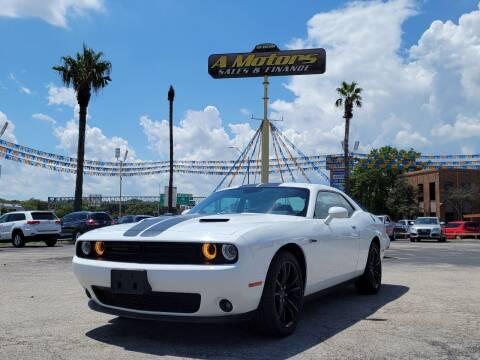 2016 Dodge Challenger for sale at A MOTORS SALES AND FINANCE - 10110 West Loop 1604 N in San Antonio TX