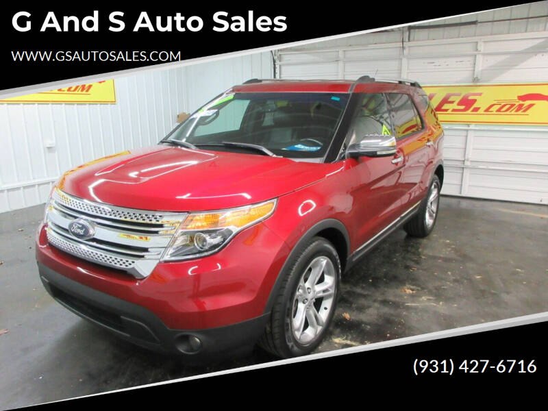 2013 Ford Explorer for sale at G and S Auto Sales in Ardmore TN