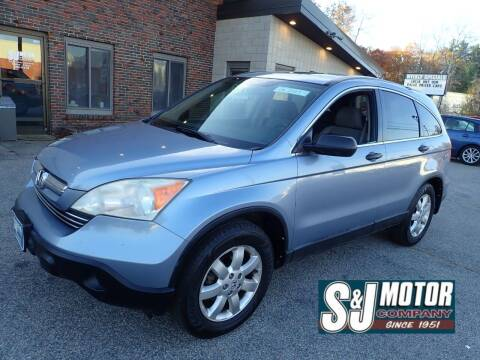 2008 Honda CR-V for sale at S & J Motor Co Inc. in Merrimack NH