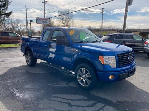 2014 Ford F-150 for sale at JERRY SIMON AUTO SALES in Cambridge NY