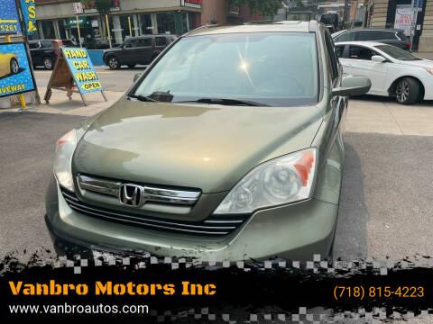 2009 Honda CR-V for sale at Vanbro Motors Inc in Staten Island NY