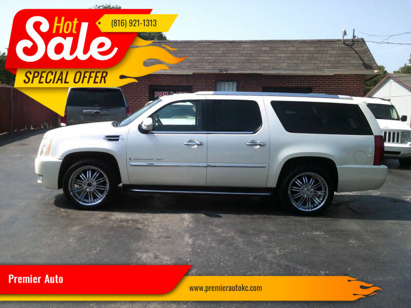 2007 Cadillac Escalade ESV for sale at Premier Auto in Independence MO