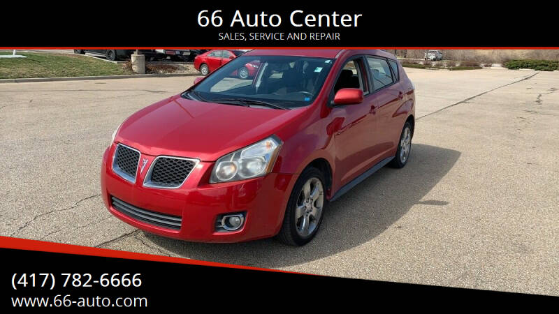 2009 Pontiac Vibe for sale at 66 Auto Center in Joplin MO