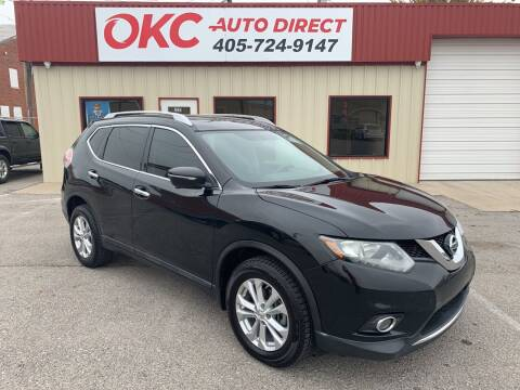 2015 Nissan Rogue for sale at OKC Auto Direct in Oklahoma City OK